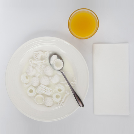 dezeen Print-Shift-3D-printed-food